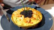 The Costliest Omelet Has Caviar On Top!